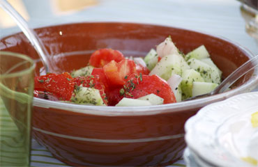 Photo of a delicious Greek salad - Greek and Yummy